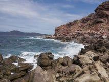Mittelmeerküste 3 Stockbilder