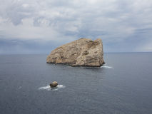 Mittelmeerküste 3 Stockfoto