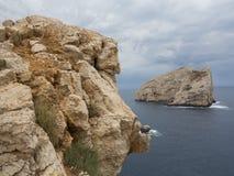 Mittelmeerküsteninsel Lizenzfreie Stockfotos
