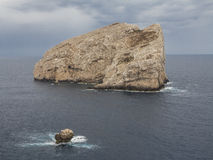 Mittelmeerküsteninsel 2 Stockbilder