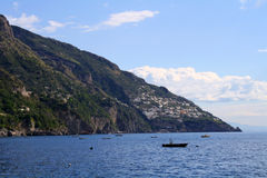 Mittelmeerküstenlinie Lizenzfreie Stockfotografie