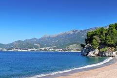 Mittelmeerküstenlinie Lizenzfreie Stockbilder