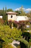 Mittelmeerlandhaus Stockfoto