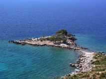 Mittelmeerlandschaft Stockbild