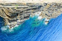 Mittelmeermeerblickhintergrund Stockbild