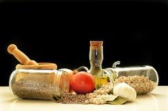Mittelmeernahrung Lizenzfreies Stockfoto