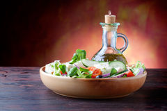 Mittelmeersalat Lizenzfreies Stockbild