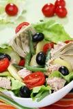 Mittelmeersalat Stockfotos