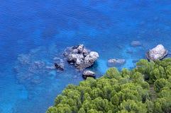 Mittelmeerschacht/Majorca Stockfoto