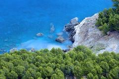 Mittelmeerschacht/Majorca Lizenzfreies Stockbild