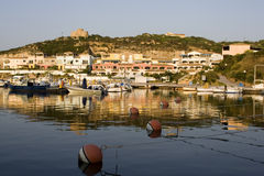 Mittelmeerseehafen Lizenzfreie Stockfotos