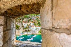 Mittelmeersommer in Kroatien, Dubrovnik lizenzfreies stockbild