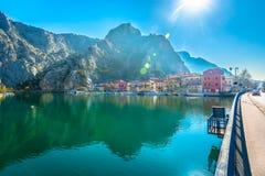 Mittelmeerstadt in Kroatien Lizenzfreies Stockbild