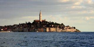Mittelmeerstadt Rovinj, Kroatien Lizenzfreies Stockbild