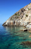 Mittelmeerszene Lizenzfreies Stockbild