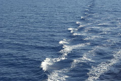 Mittelmeerwellen stockfotografie