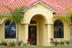 Mittelstand-Haus in Florida Stockfotos