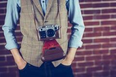Mittelteil des Fotografen Lizenzfreies Stockfoto