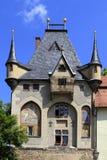 Mitteltor port på slottkullen, Meissen, Sachsen Royaltyfria Bilder