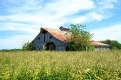 Mittelwesten Hay Barn Lizenzfreies Stockfoto
