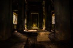 Mitten av templet Royaltyfria Foton