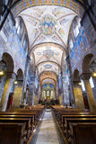 Mitten in der Abtei stockbilder