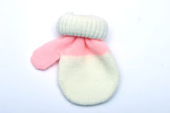 Mitten do bebê Imagem de Stock