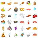 Mitten icons set, cartoon style Stock Photo