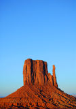 The Mitten in Monument Valley Stock Photography