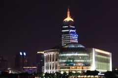 Mitten Shanghai för internationell konferens Royaltyfria Foton