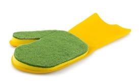Mitten with sponge Stock Image