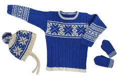 свитер mittens шлема Стоковые Фото