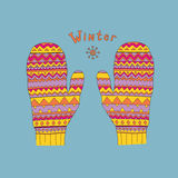 Mittens Royalty Free Stock Images