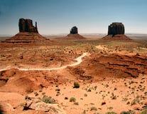 Mittens do vale do monumento Foto de Stock Royalty Free