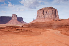 The Mittens at Monument Valley Royalty Free Stock Photo