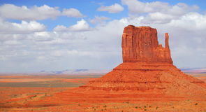 The Mittens in Monument Valley Stock Image