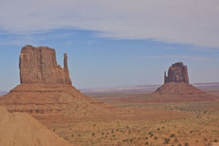 The Mittens Monument Valley Royalty Free Stock Photos
