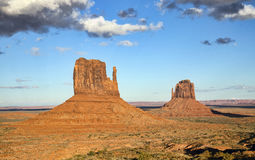 The mittens at Monument Valley, AZ Stock Photo