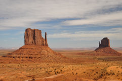 The Mittens - Monument Valley Royalty Free Stock Photo