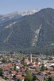 Mittenwald сверху Стоковые Фото