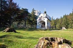 Mittenwald, chapel Stock Photography