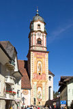 Mittenwald, church Royalty Free Stock Photo