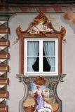 Mittenwald Fenster Stockbild