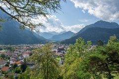 Mittenwald, Bavaria, Germany royalty free stock photography