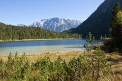 Mittenwald Lake Ferchen Stock Photo