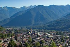 Mittenwald w bavarian alps Obraz Royalty Free