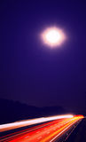 Mitternachtssteigen Stockbild
