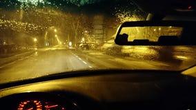 Mitternachtsstraße Stockfotografie