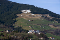 Mittersill Palace, Pinzgau, Austria. Mittersill Palace, located in the Pinzgau district, Austria, photo taken in spring time Stock Images