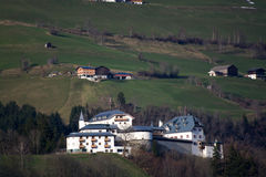 Mittersill Palace, Pinzgau, Austria. Mittersill Palace, located in the Pinzgau district, Austria, photo taken in spring time Stock Photos